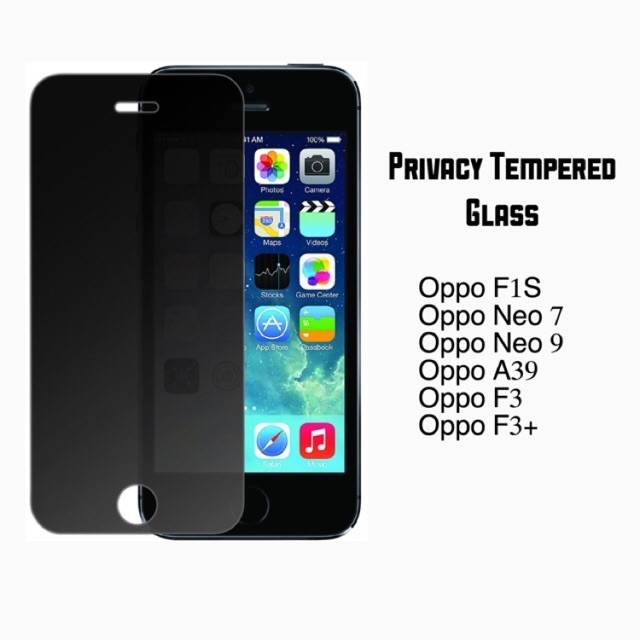 Privacy Tempered Glass For Oppo