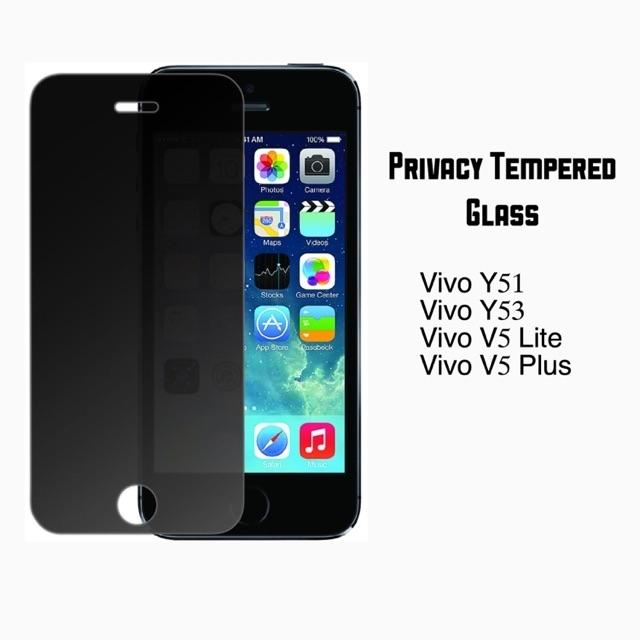 Privacy Tenpered Glass For Vivo