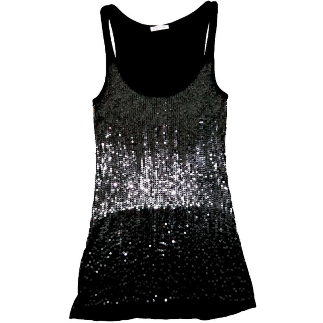 Promod Sequinned Tank Dress