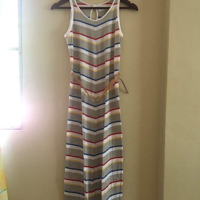 Regatta Maxi Dress With Belt