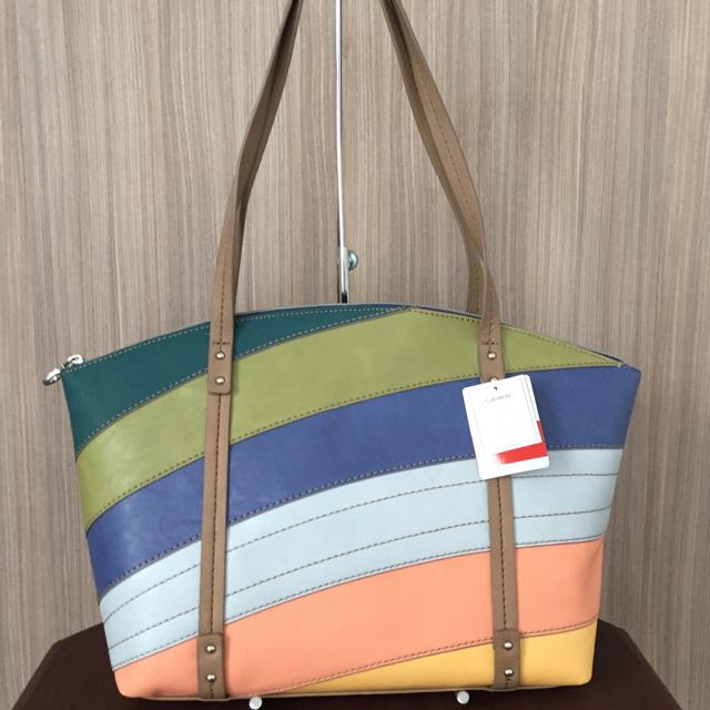 Relic by Fossil Caraway Medium Tote Bag (Bright Multi)