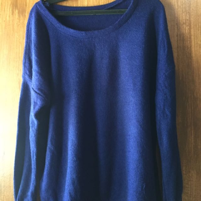 Royal Blue pull over