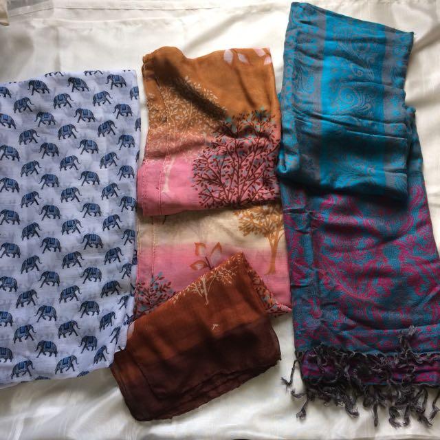Scarf bundle (3 for 250)