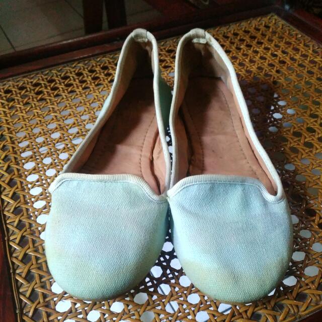#SSS Sepatu Flat Erza By Zalora Biru Langit