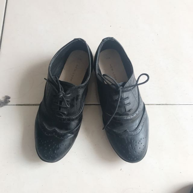 Sepatu Oxford New Look 376cf5ca52