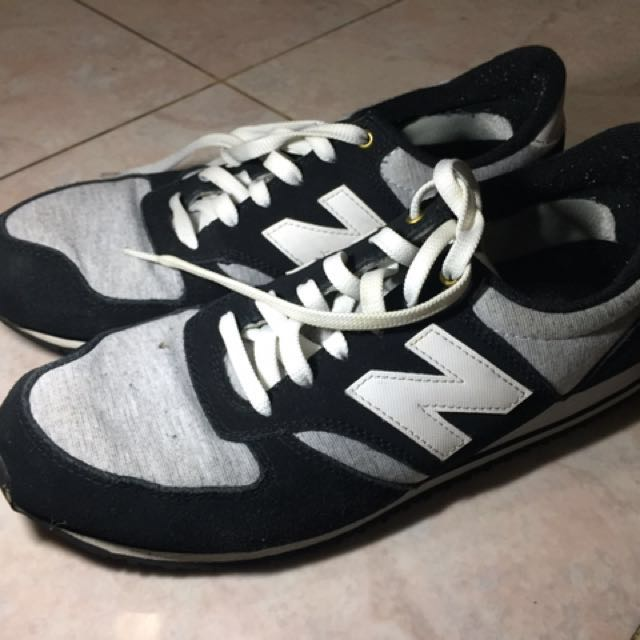 Sepatu Pria New Balance 420 Grey Black Size 44 (Original) 5e0636253c