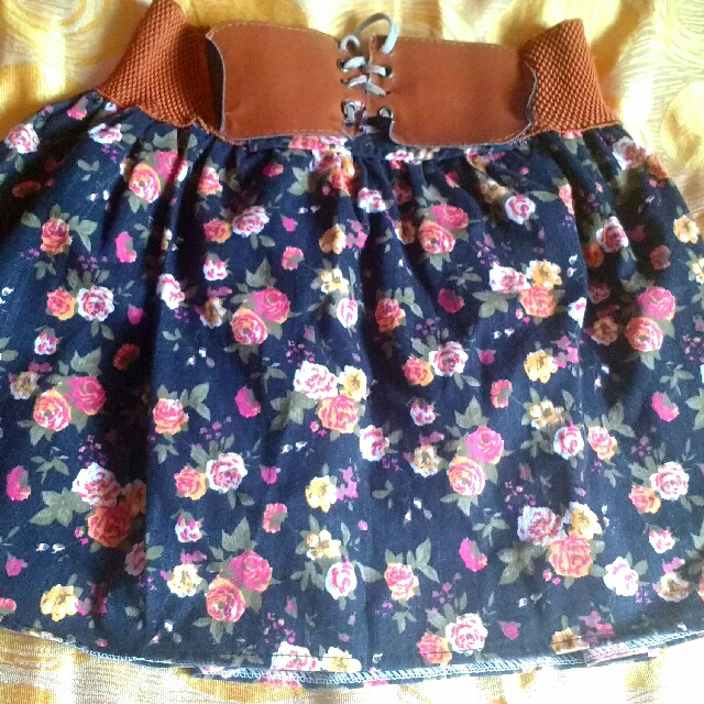 Sexy Floral Skirt