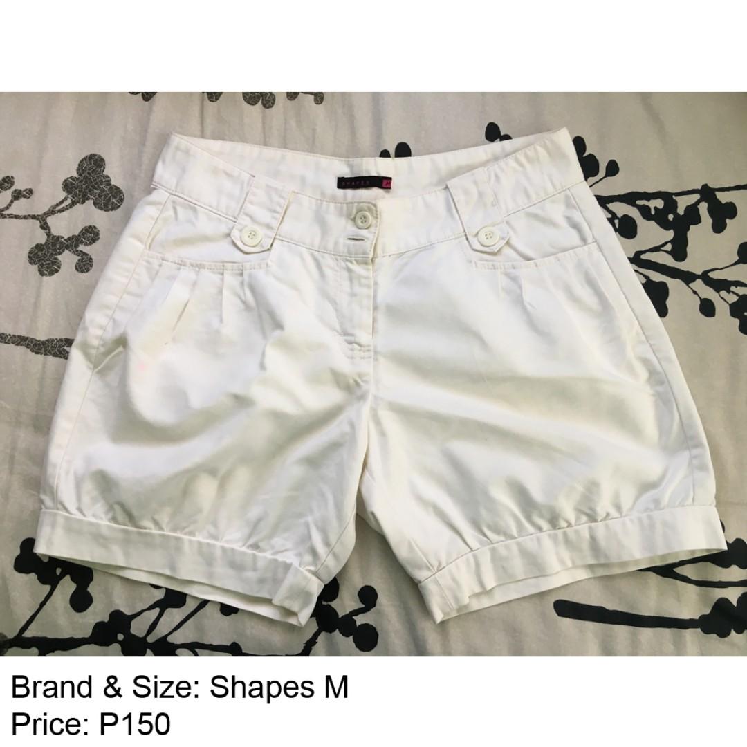 SHAPES White Short Medium