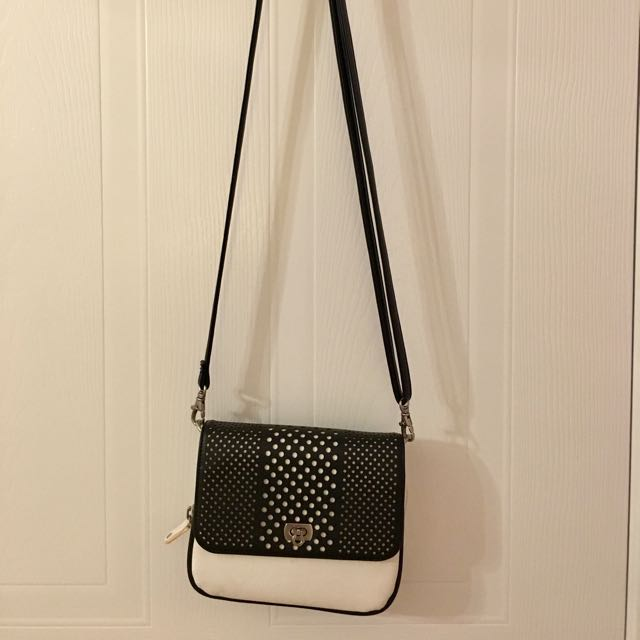 Small purse - two tone