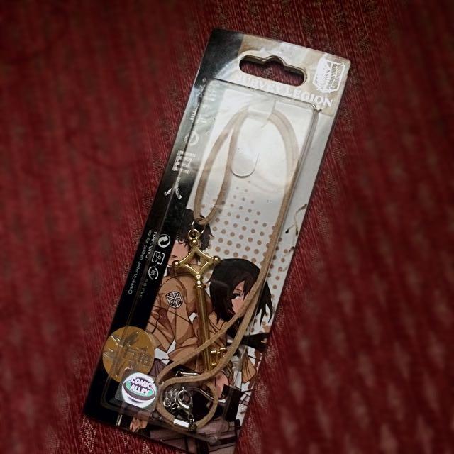 SNK Eren key necklace