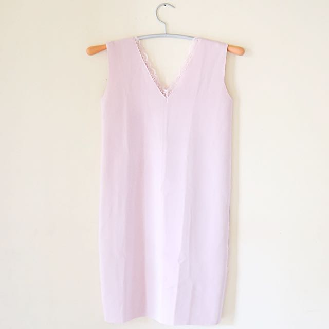 Soft Pink Minidress