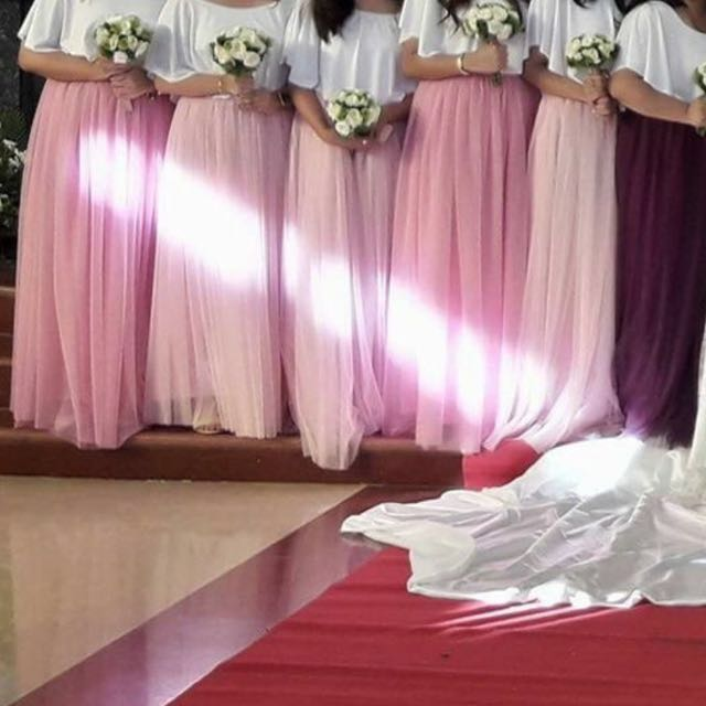 Soft Tulle Skirts (Php 800.00 each)