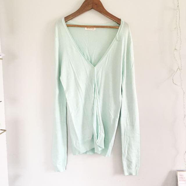 Stradivarius Mint Cardigan