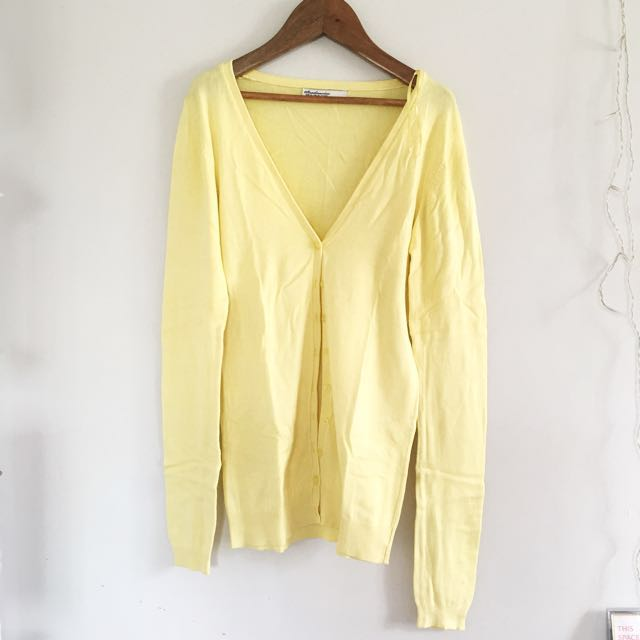 Stradivarius Sunshine Cardigan