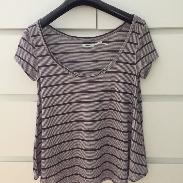 striped brandy resembled t-shirt