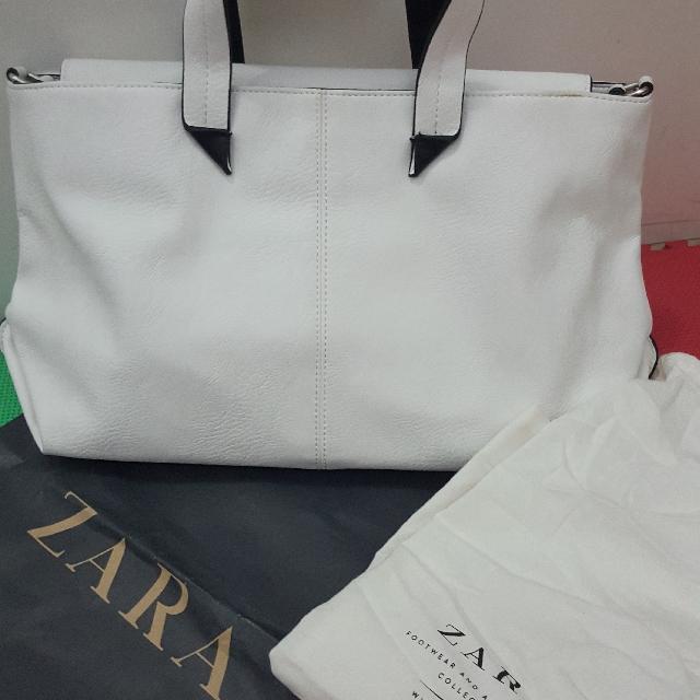 Tas ZARA white Original