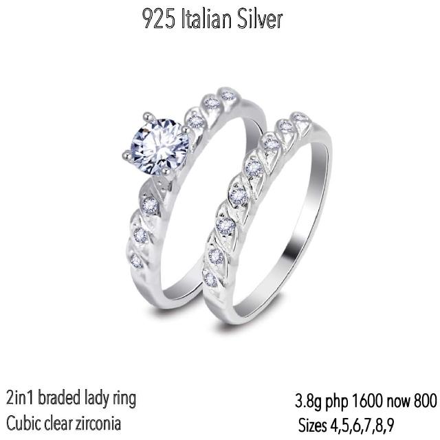 Tiffany 2 in 1 Ring
