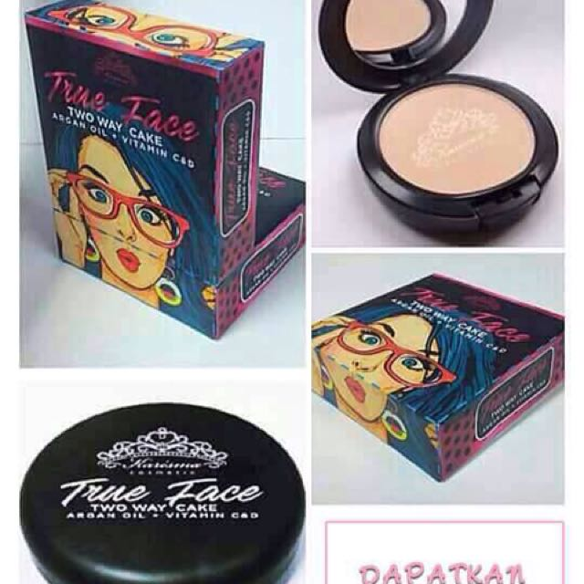 TRUE FACE TWO WAY CAKE by KARISMA COSMETIC, Health & Beauty, Makeup on Carousell