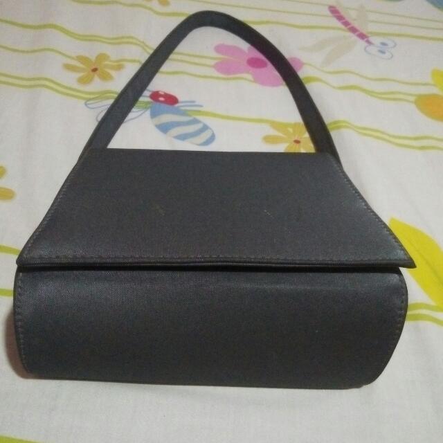 Unbranded Black Grey Bag [Bongkar Lemari]