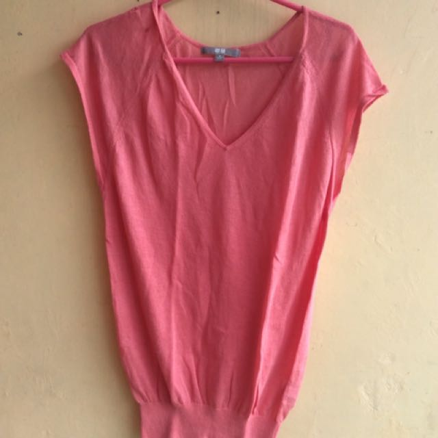 Uniqlo pink
