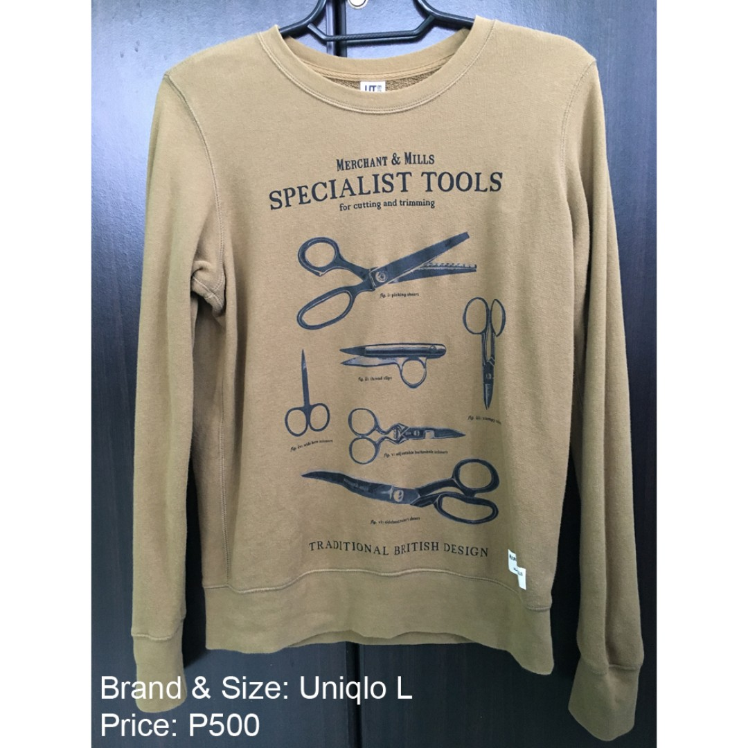 UNIQLO Sweater Outerwear Pull-over Olive