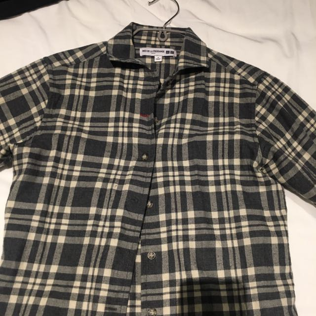 Uniqlo x Ines button up shirt