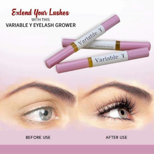 5841f05fa41 Variable Y Eyelash Growth Enhancer Serum, Health & Beauty, Makeup on ...