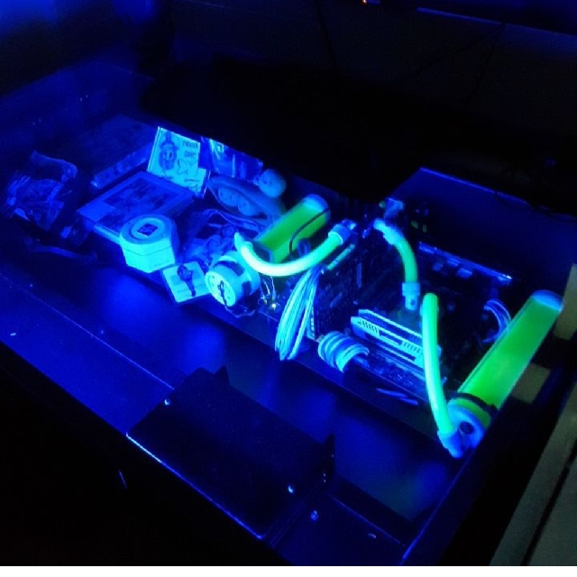 VECTOR DESK PC CASE W/ Water Cooling