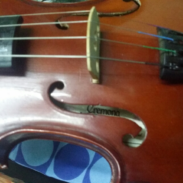 Violin 4/4 CREMONA/ rush need money for fund.