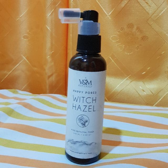 V&M Naturals: WITCH HAZEL PORE PERFECTING TONER