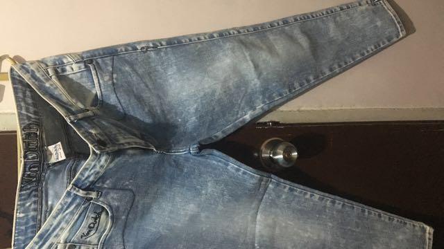 Von Dutch Acid Wash Jeans