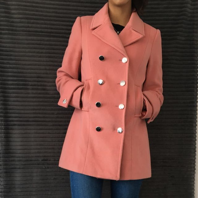 Warehouse Peacoat Size 8