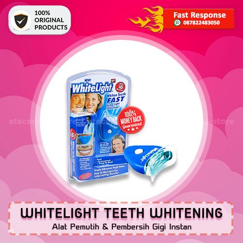WHITELIGHT TEETH WHITENING - Pemutih & Pembersih Gigi - Original