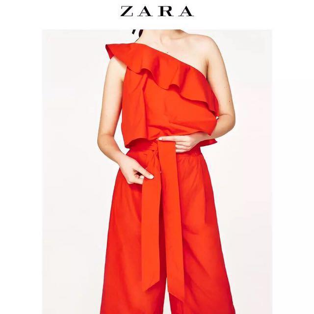 f2e1d6196b Zara orange jumper