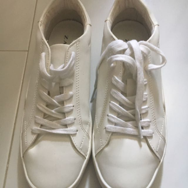 zara white sneakers womens buy clothes
