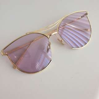 Purple Sunglasses from Japan