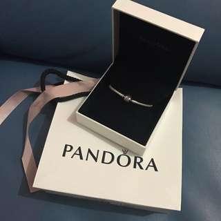 Pandora 16cm 蛇骨手鍊 原價$699