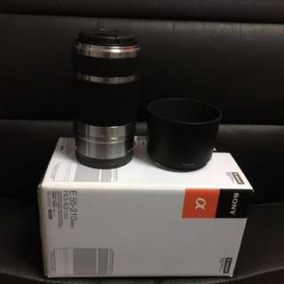 Sony Camera Lens E 55-210 mm F4.5-6.3 OSS SEL55210