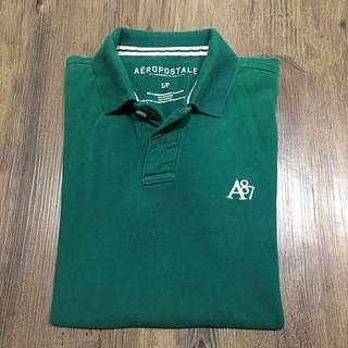 Aeropostale Green Polo Shirt