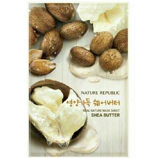 Nature Republic Mask Sheet Shea Butter