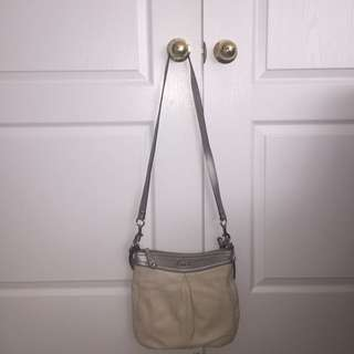 Authentic Leather Cross body Coach Purse