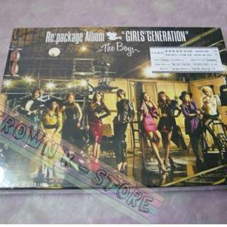 [CRAZY DEAL 70% OFF FROM ORIGINAL PRICE][READY STOCK]GIRLS GENERATION SNSD KOREA VERSION THE BOYS REPACKAGE CD+DVD ALBUM  (NO POSTER) SEALED ! NEW!OFFICIAL ORIGINAL FROM KOREA (PRICE NOT INCLUDE POSTAGE)(PLEASE READ DETAILS FOR MORE INFO)