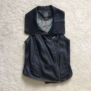 Armani Soft Denim Vest