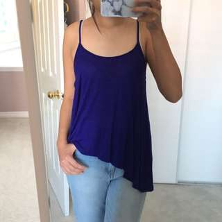 F21 Royal Blue Tank