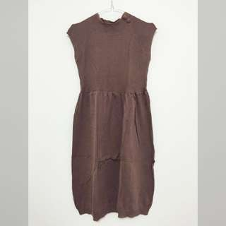 Pull and Bear brown dress