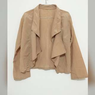 Brown outerwear