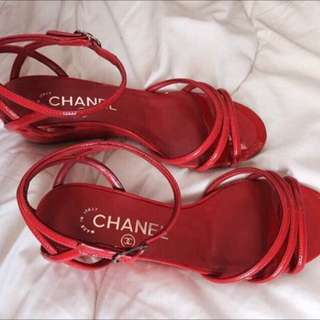 "Chanel  2""Inch wedge"