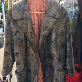 Authentic Mink Coat - Women's Size Small