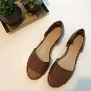 Forever 21 Tan Shoes