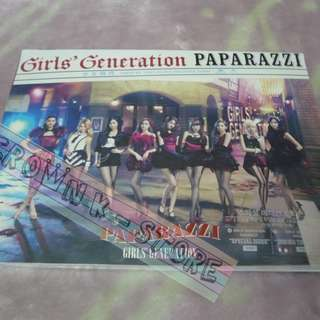 [CRAZY DEAL 60% OFF FROM ORIGINAL PRICE][READY STOCK]GIRLS GENERATION SNSD JAPAN PAPARAZZI CD+DVD FIRST PRESS EDITION (NO POSTER) SEALED ! NEW!OFFICIAL ORIGINAL FROM JAPAN (PRICE NOT INCLUDE POSTAGE)(PLEASE READ DETAILS FOR MORE INFO)